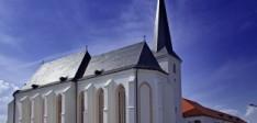 Minorita templom és kolostor a híres Krucsay oltárral